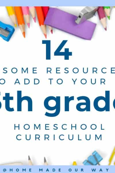 image of post cover for 5th grade homeschool curriculum