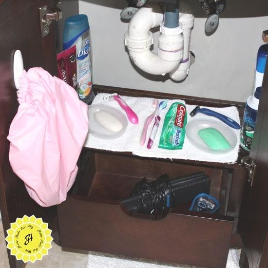 under sink vanity