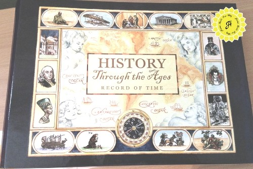 history through the ages record of time timeline book