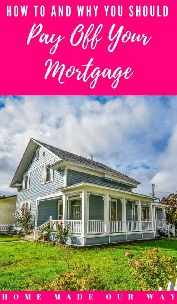 Pin image for How to and why you should pay off your mortgage post