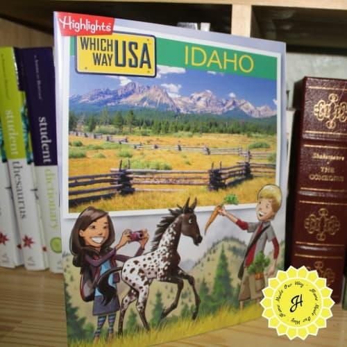 Highlight's Which Way USA Idaho activity book