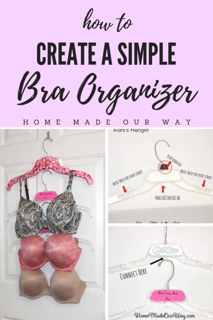 Pin image for How to Create a Simple Bra Organizer post