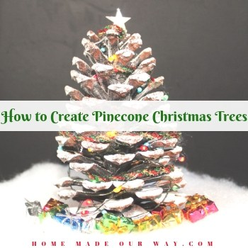 How to Create Pinecone Christmas Trees