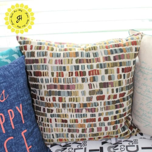 bookish pillow