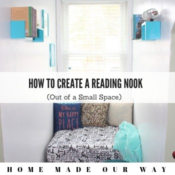 How to Create a Reading Nook Out of a Small Space