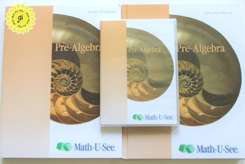 math u see pre-algebra book