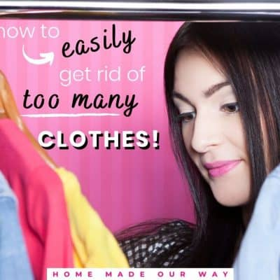 How to Easily Get Rid of Too Many Clothes