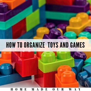 How to Organize Children's Toys and Games