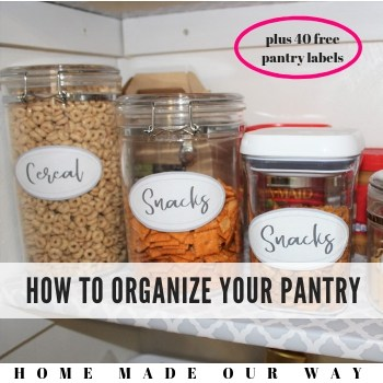 How to Organize Your Pantry So You Can Find What You Need