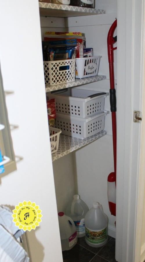 mop in pantry
