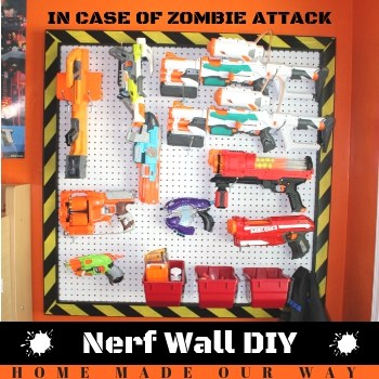 How to Make a Nerf Wall – Free Plans with Diagram and Steps