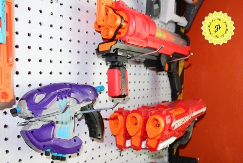 nerf gun configuration middle right wall