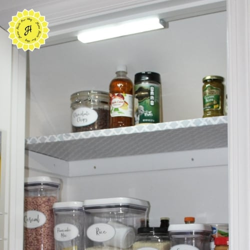 lighted pantry