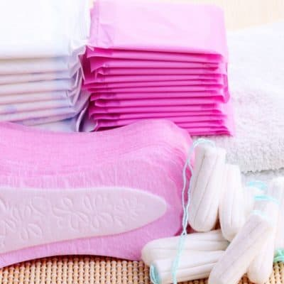 How to Organize Your Feminine Care Products [DIY Included]