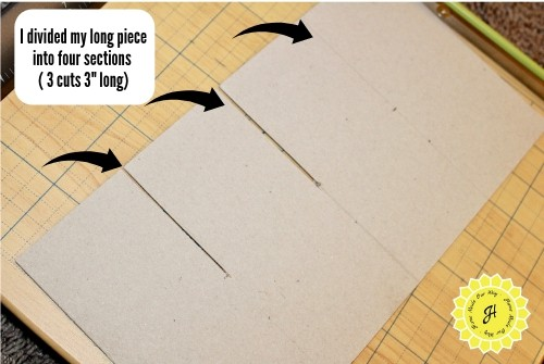 groove cuts on chipboard