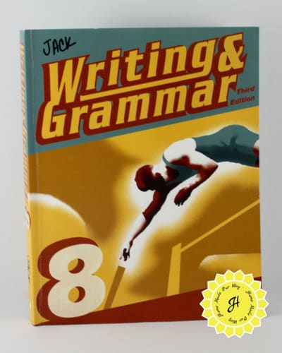 english writing and grammar book for 8th-grade