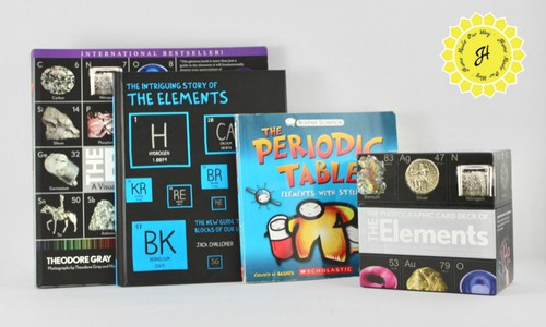 Various books for periodic table study