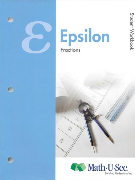 Math U See Epsilon Workbook