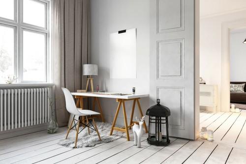 home office desk area workspace