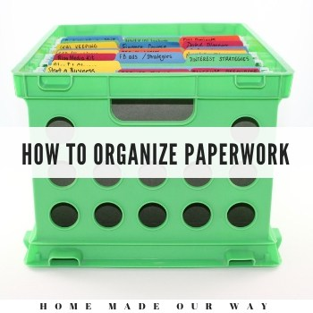 How to Declutter, Organize, and Store Your Paperwork