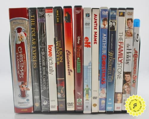 favorite Chrismtas DVD movies