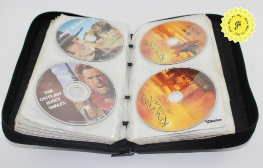 DVD nylon zippered case