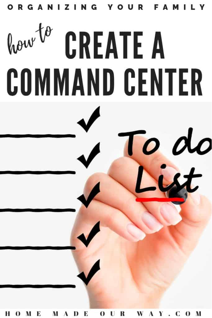 pin image for family command center post