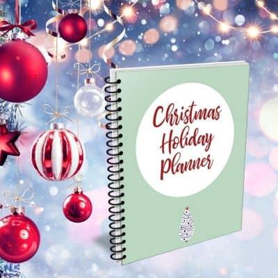 Printable Christmas Planners to Organize Your Holiday