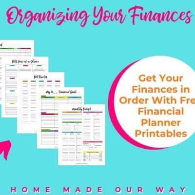 Free Financial Planning Printables to Help Organize Your Finances
