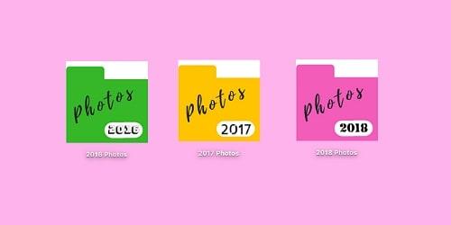 Custom Desktop files for digital photos