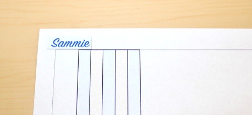 pet planner index name tag