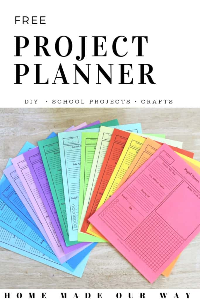 graphic about Free Printable Project Planner named Venture Planner Printable [No cost PDF for Your Resourceful Recommendations]