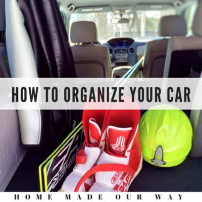 How to Declutter and Organize Your Car