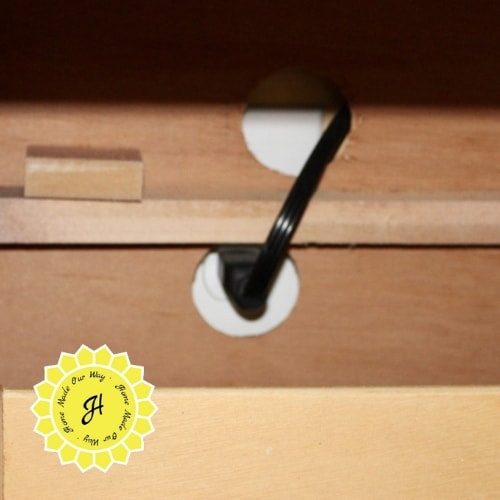 hole for outlet
