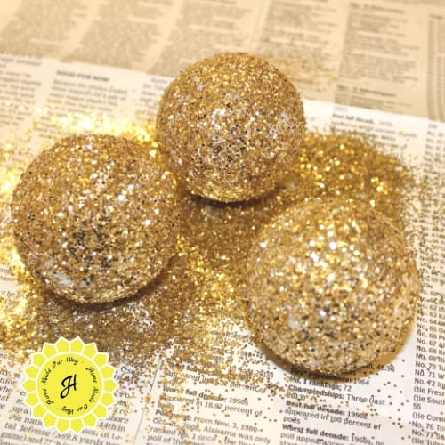 wingless golden snitches styrofoam balls