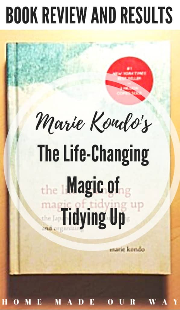 Pin image for Results of Marie Kondo's book about tidying up post