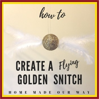 How to Create Flying Golden Snitches