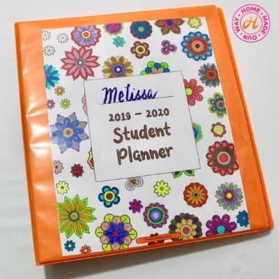 Free Printable Student Planner for the 2019 – 2020 School Year
