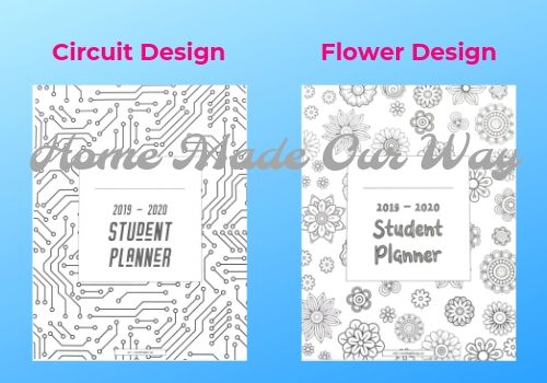 image about Printable Student Planner named Totally free Pupil Planner Printable PDF for the 2019 - 2020