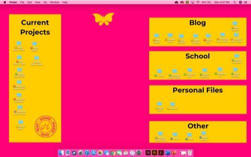 designed desktop organizer