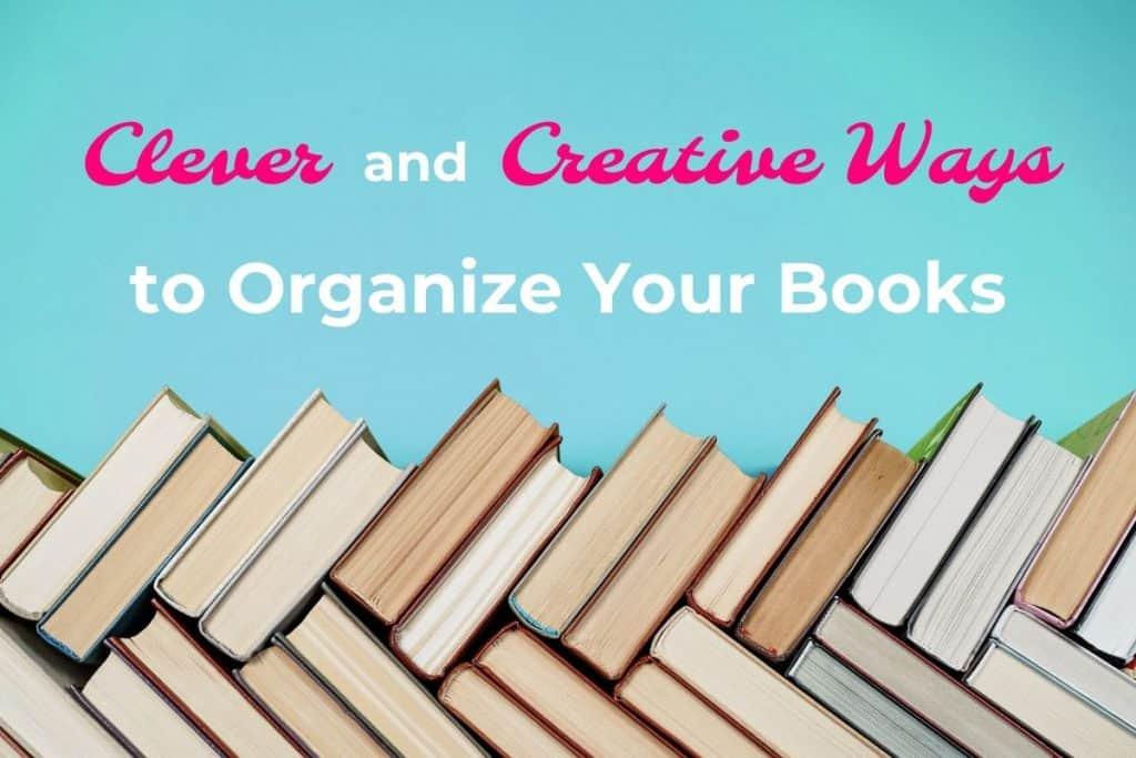 horizontal image for book organization post