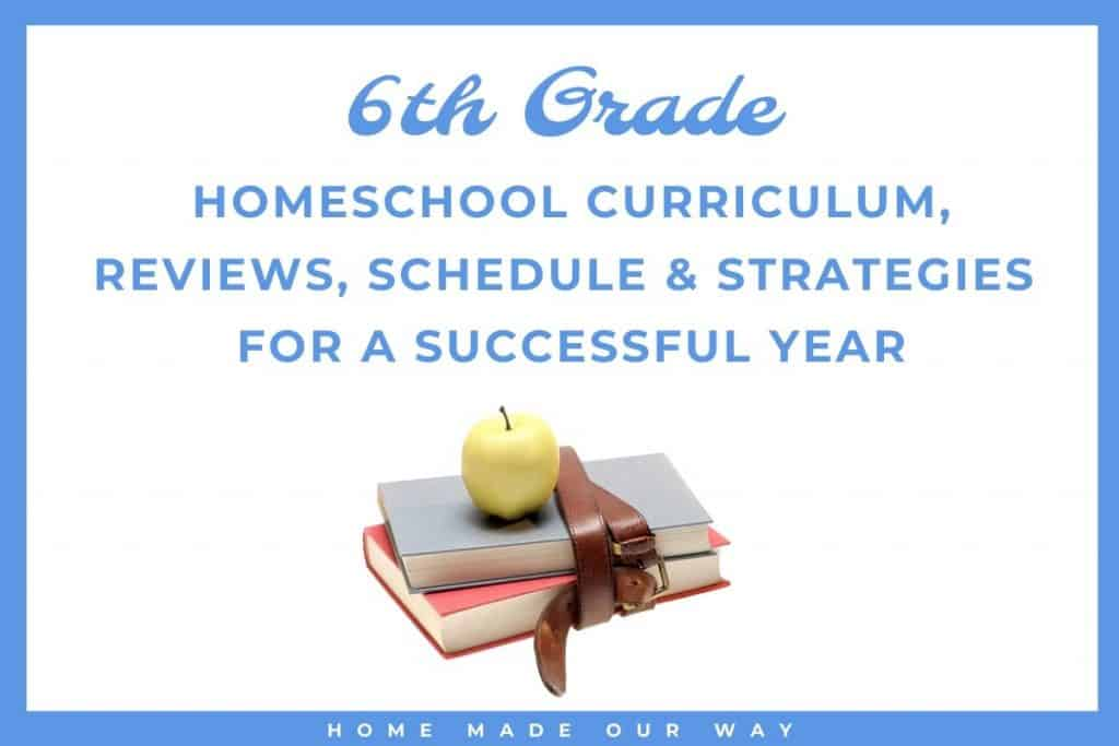 image for 6th-grade homeschool curriculum post