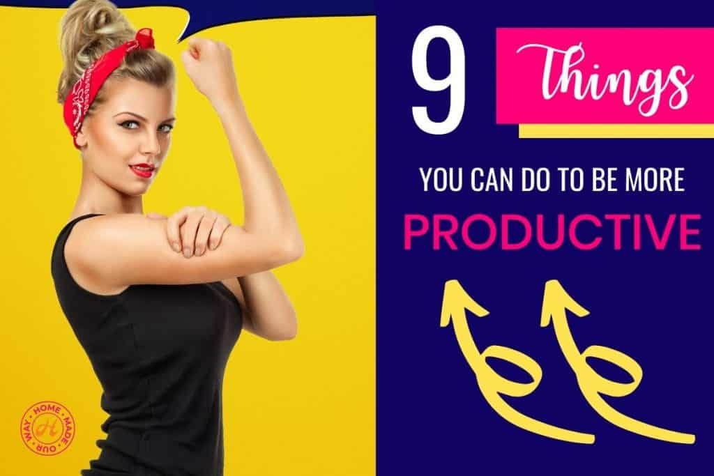 feature image of Rosie the Riveter for Productivity post