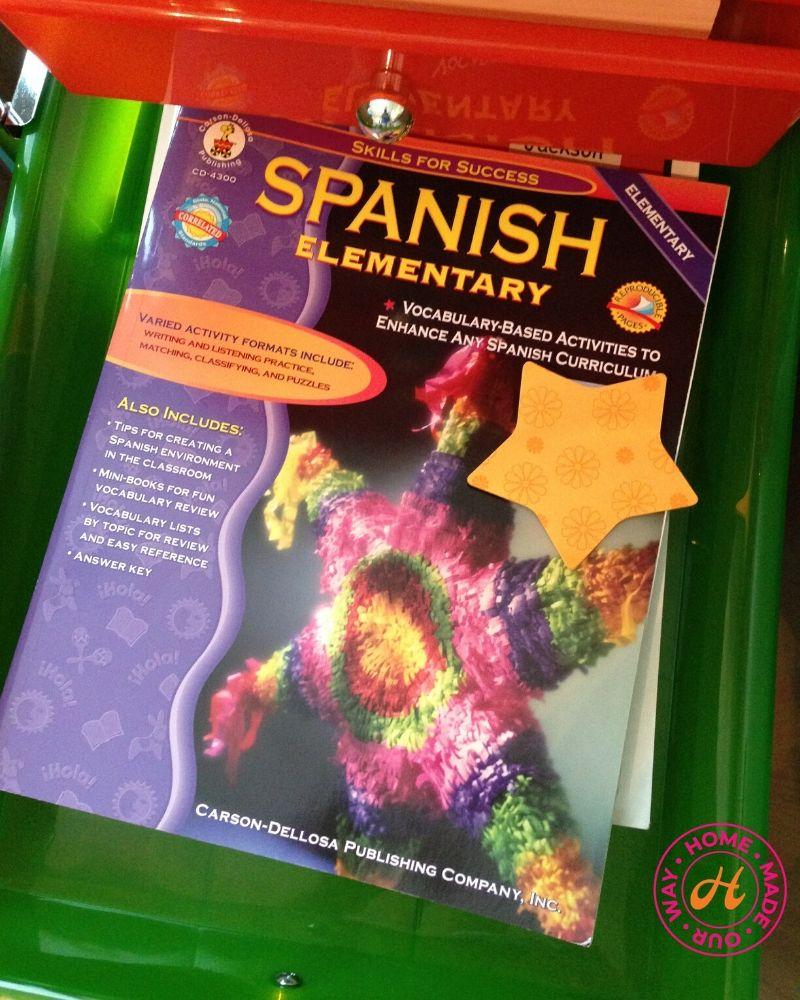 spanish workbook for 5th grade homeschool