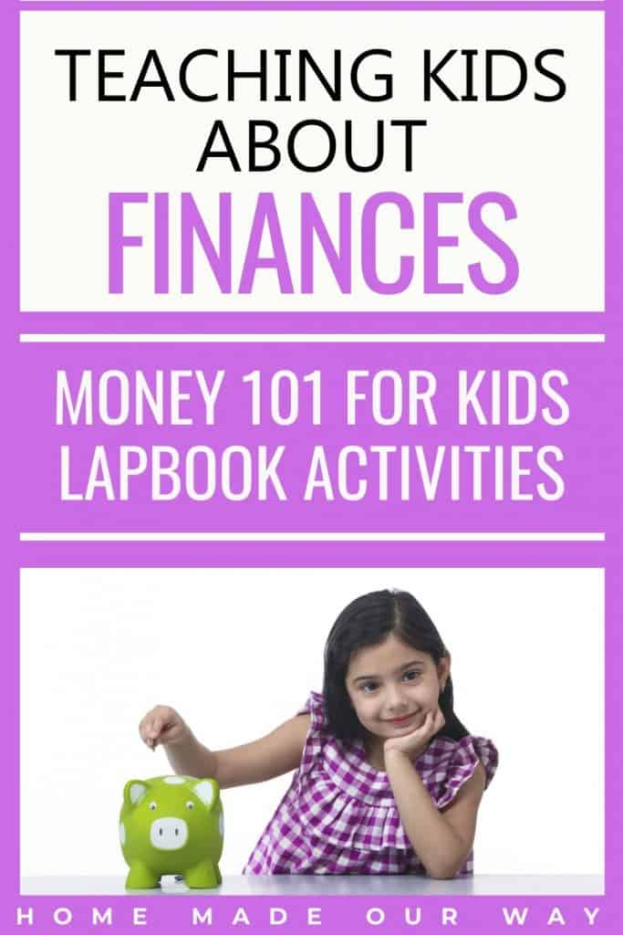 pin image for Money 101 for Kids post