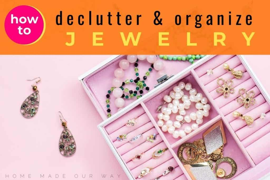 image of filled jewelry box for jewelry organization post