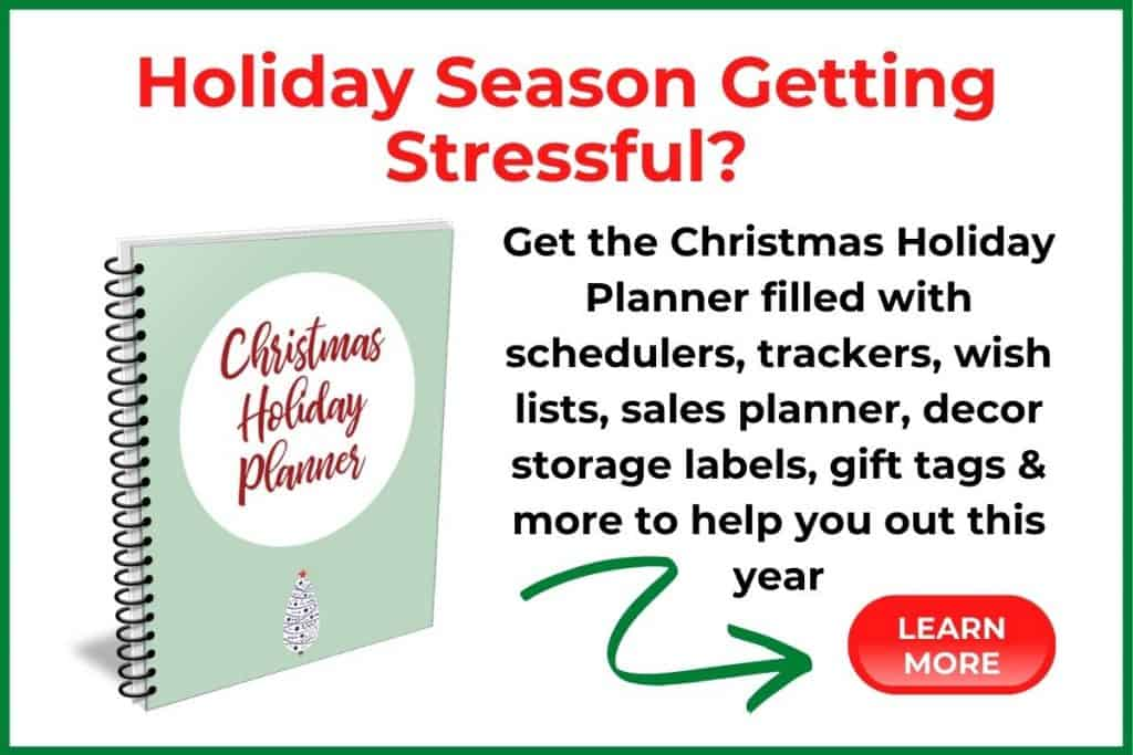 image of Christmas Holiday Planner