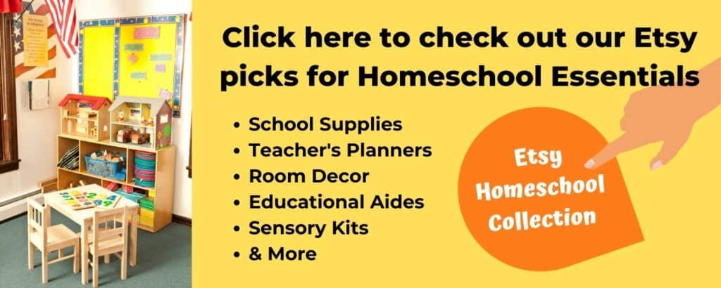 etsy homeschool collection